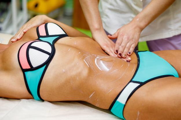 Massagem redutora