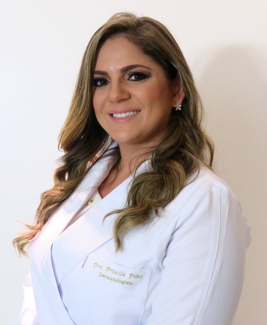 Foto da Doutora Priscila Frões